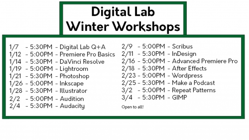 Digital Lab Winter 21