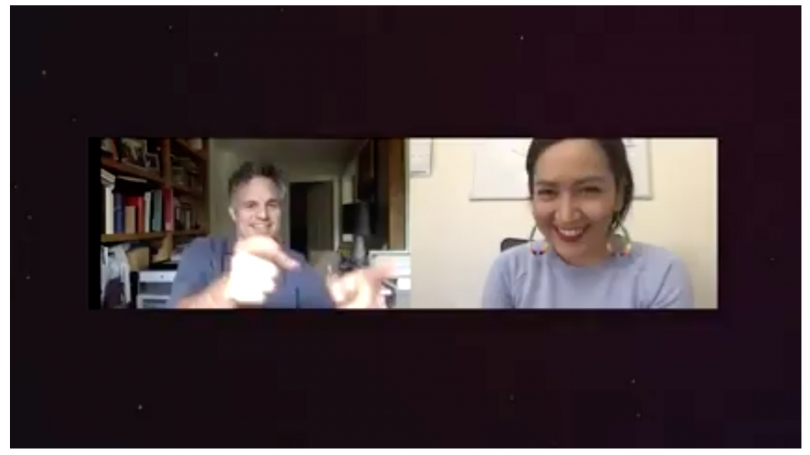 The Force is Strong in Indian Country virtual discussion with Mark Ruffalo and Allie Young